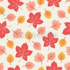 Süße Blätter Designmuster