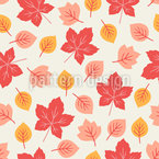 Sweet Leaves Seamless Vector Pattern Design