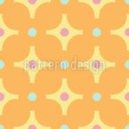 Dekorative Polka Punkte Muster Design