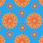 Blumen Power Mandala Vektor Design