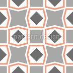 Gespitztes Quadrat Vektor Muster