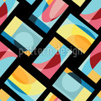 Geometric Abstraction Seamless Vector Pattern Design