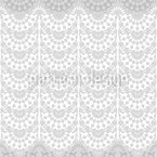 Overlapping Lace Seamless Vector Pattern Design
