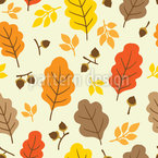 In Autumnal Wind Repeat Pattern