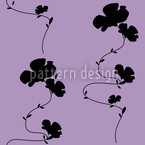 Shadow Play Purple Seamless Vector Pattern Design