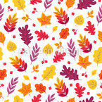 Bright Autumn Seamless Vector Pattern