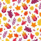 Strahlender Herbst Nahtloses Vektor Muster