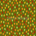 Strahlende Herbstblätter Vektor Muster