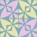 Modernes Marokkanisches Mosaik Nahtloses Vektor Muster