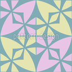 Modernes Marokkanisches Mosaik Nahtloses Vektormuster