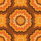 Current Past Seamless Vector Pattern Design