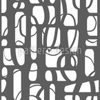 Zerschnittene Formen Vektor Muster