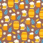 Bierfässer Rapportmuster