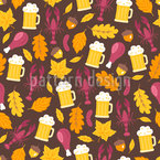 Edles Oktoberfest Musterdesign