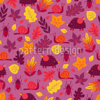 Slow Animals Vector Pattern