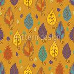 Ornamentale Blätter Vektor Muster