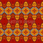 Sprechende Ornamente Muster Design