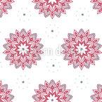 Whitespace Mandala Vector Pattern