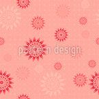 Gear Flowers Repeat Pattern
