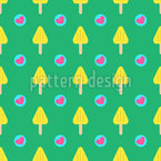 Hearty Ice Lollies Design Pattern