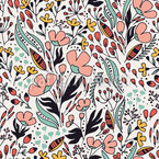 Floral Dancegeneration Pattern Design
