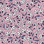 Blumenwanderung Nahtloses Muster