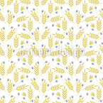 Summer Shine Field Seamless Vector Pattern Design