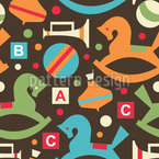Toy Box Vector Pattern