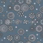 Japanischer Schnee Vektor Ornament