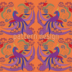 Bird Of Paradise Pattern Design