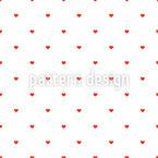 Einfach Herzen Musterdesign