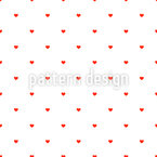 Simply Hearts Seamless Vector Pattern Design