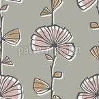 Myrte Blumen Vektor Muster