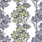 Krokus Blume Designmuster