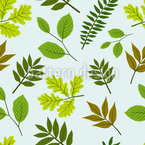 Mix Of Leaves Vector Design