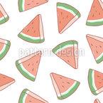 Cut Watermelons Vector Design