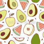 Juicy Fruits Repeating Pattern