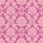 Baroque Florals Seamless Vector Pattern Design