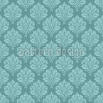 Baroque Lady Seamless Vector Pattern Design