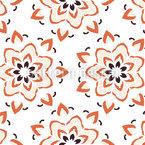 Mandalas en floración Estampado Vectorial Sin Costura