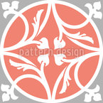 Telhas de Banho Design de padrão vetorial sem costura