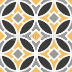 Girona Design de padrão vetorial sem costura