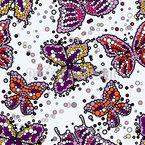 Butterflies Pop Vector Ornament