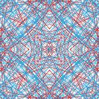 Symmetrische Linienstrukturen Muster Design