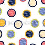 Circle Cutouts Design Pattern