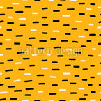 Striped Stripes Vector Ornament