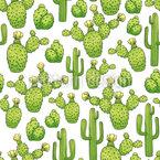 Mexikanische Kakteen Vektor Design