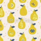 Pears Paradies Pattern Design