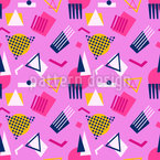 Once In Memphis Seamless Vector Pattern Design