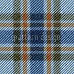 Cool Tartan Repeating Pattern